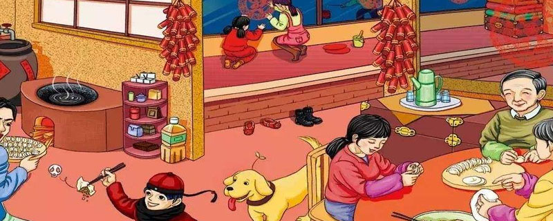 关于春节的故事