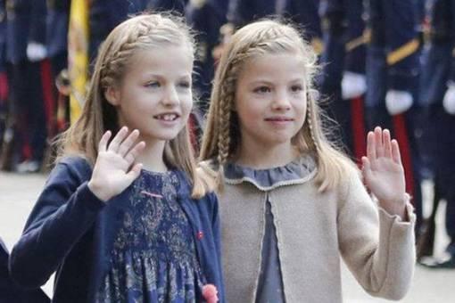 西班牙国王偏心大女儿?其实小女儿更受宠